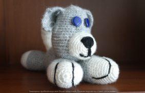 Собака, вязаная крючком – описание, фото пошагово