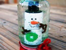Миниатюра к статье Стеклянный шар со снегом внутри – как сделать своими руками