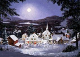Миниатюра к статье Стихи о Рождестве Христовом